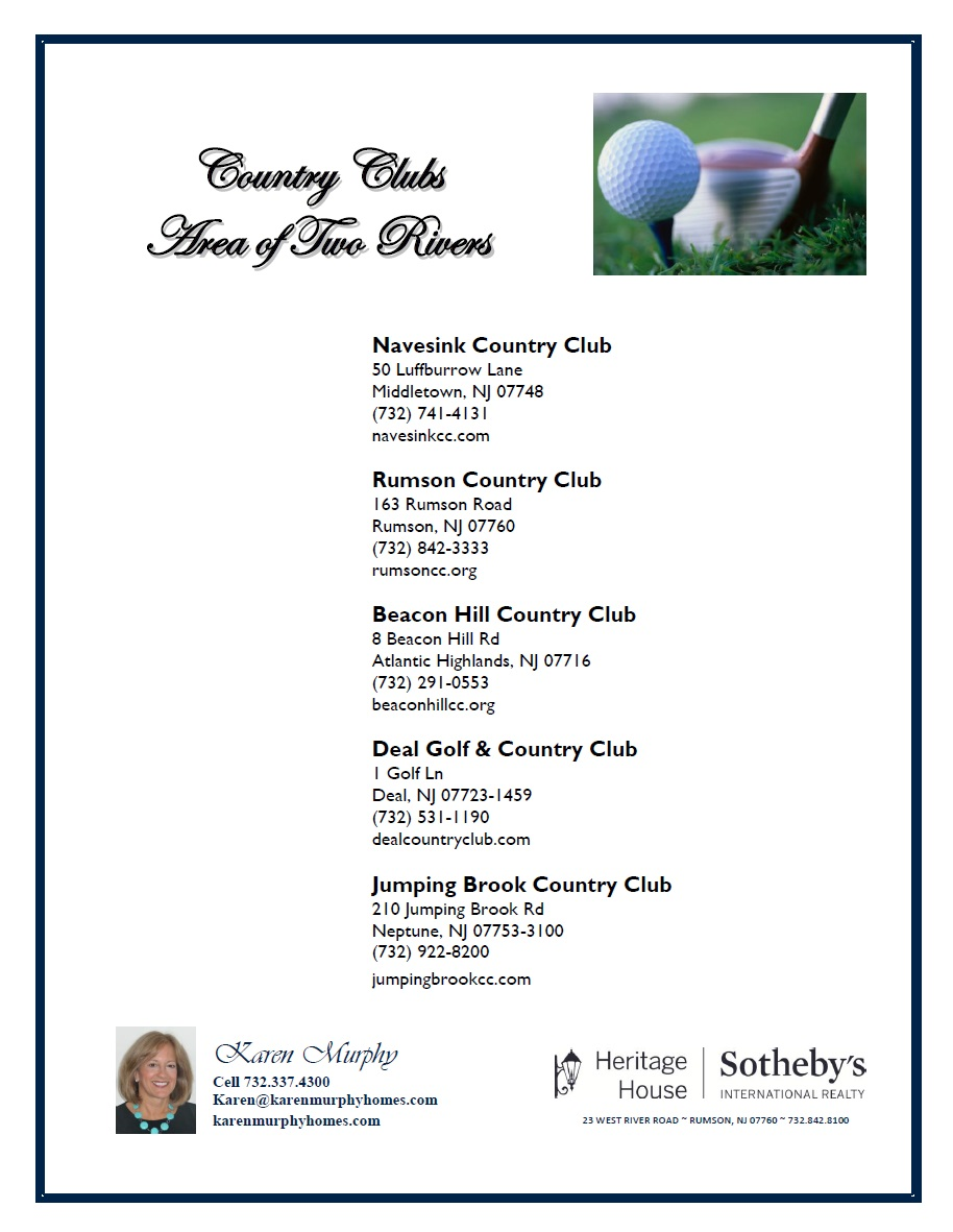 Country Clubs WS