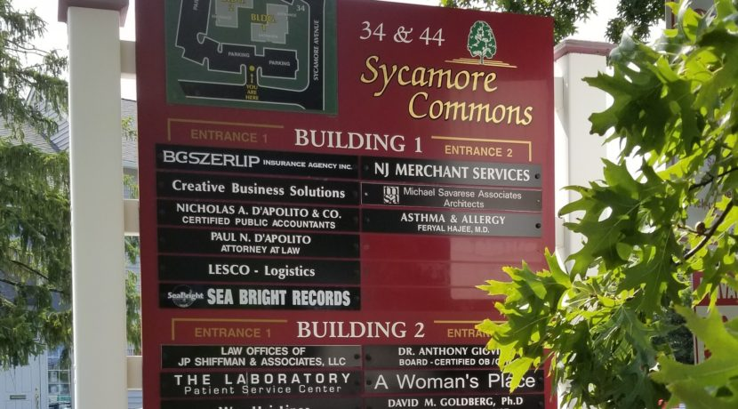 Sycamore Commons Sign