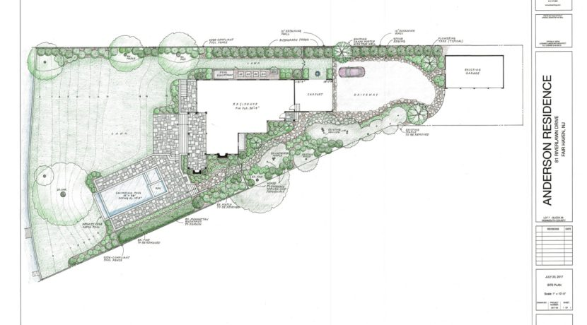 Site Plan -1 Rendered - Preliminary