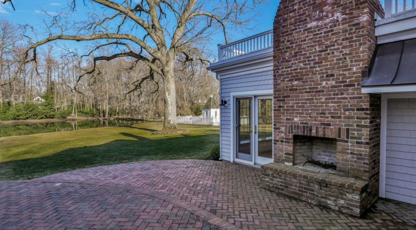 28. Outdoor Fireplace & Patio