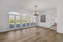 4. Dining w 3 Sets of French Doors