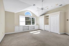 14. Master Suite with Built-in Cabinetry