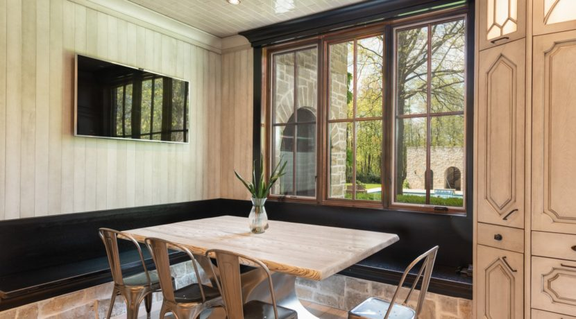 11. Dining Nook with Built-in Banquette